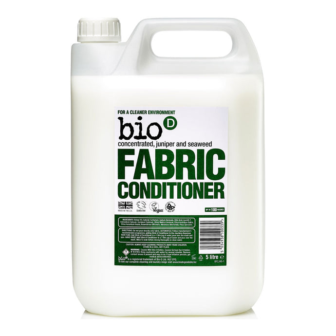 BIO-D FABRIC CONDITIONER WITH JUNIPER 5L