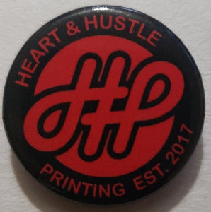 1in 1/4 HHP button