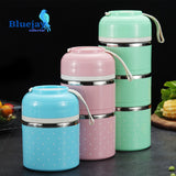 Lunch Box Portable Stainless Steel Bento Box
