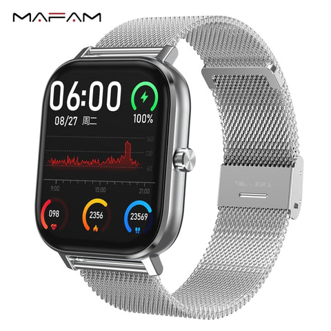 Smartwatch Bluetooth Call  Heart Rate Monitor Blood Pressure Oxygen ECG