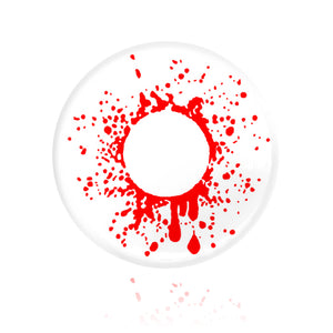 Load image into Gallery viewer, Crazy Blood Splat Halloween Contacts