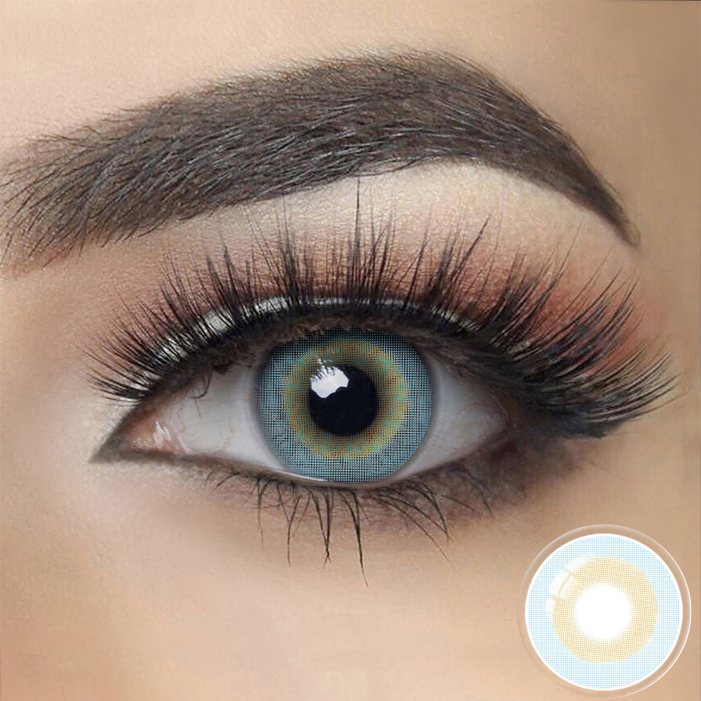 Barbie SKY BLUE Colored Contact Lenses