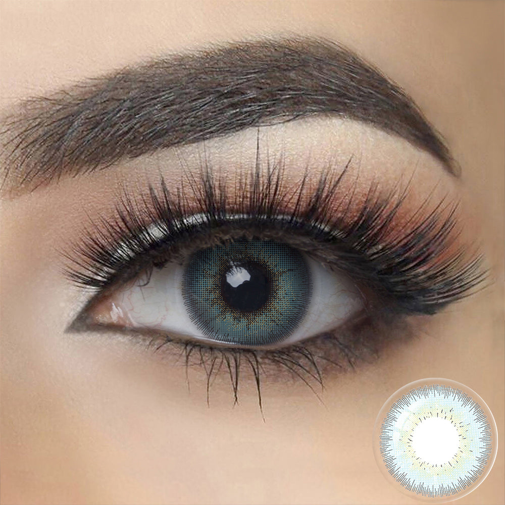 Bellalens GRAY BLUE Colored Contact Lenses