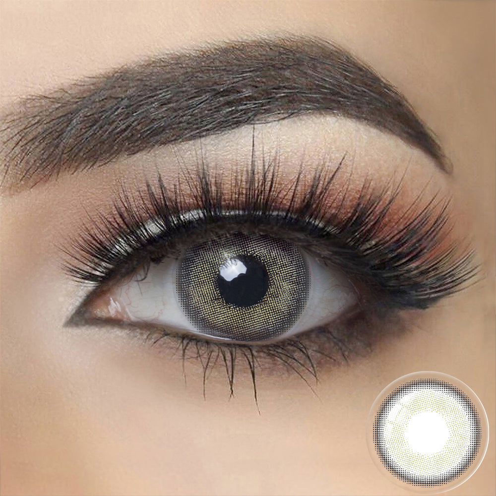 Canna Roze BLUE GRAY Colored Contact Lenses