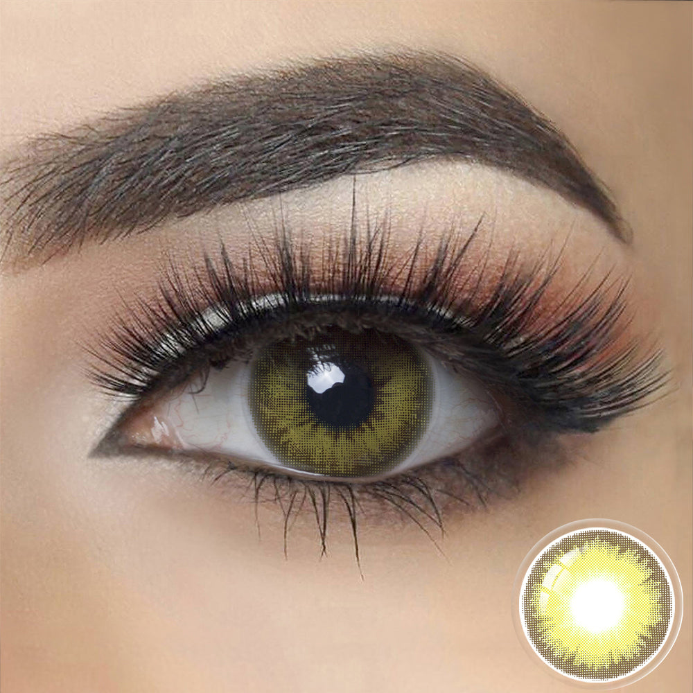 Load image into Gallery viewer, Diamond CARIBBEAN GREEN Colored Contact Lenses