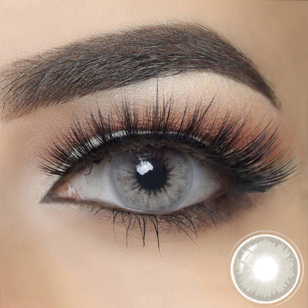 Diamond GRAY SHADOW Colored Contact Lenses