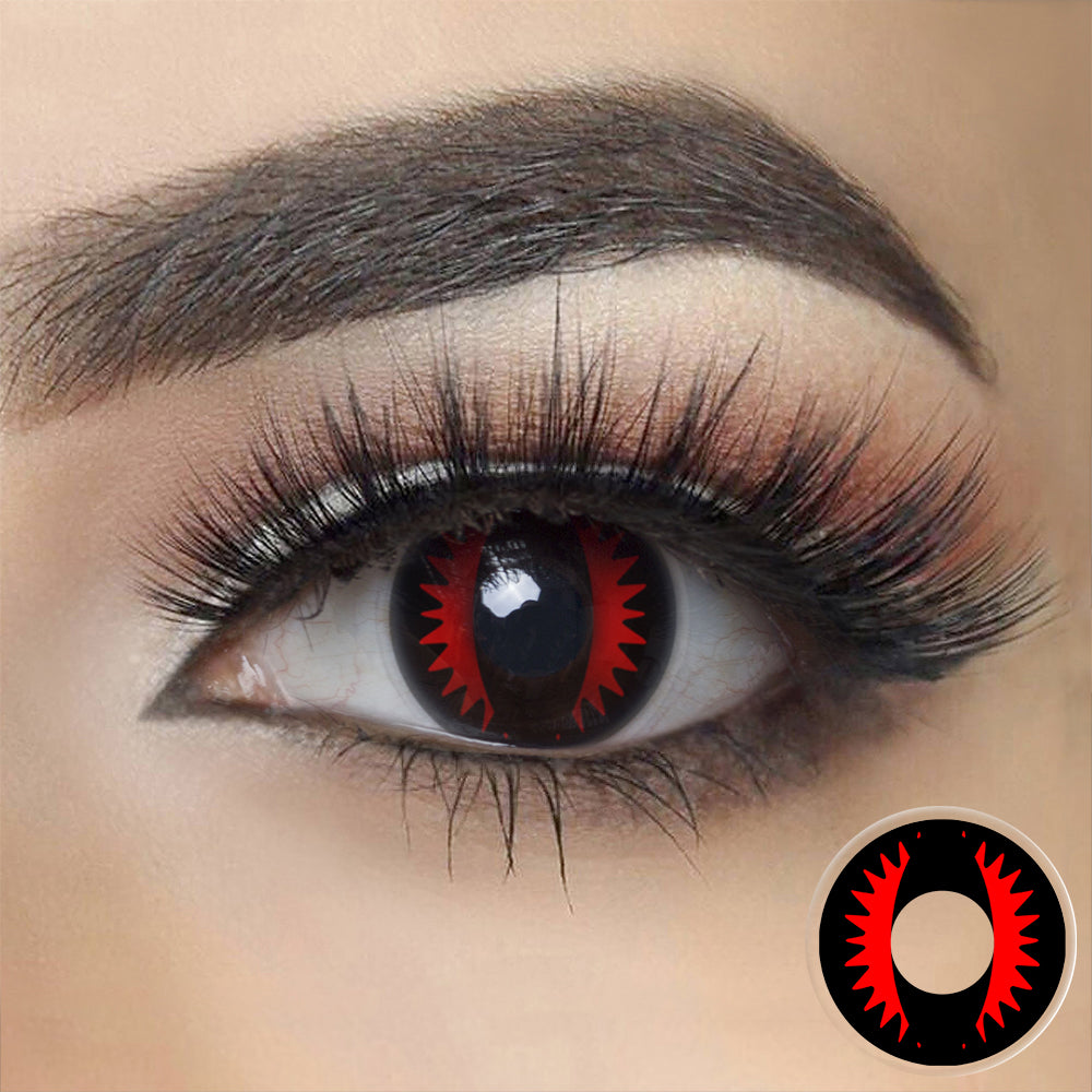 Fire Dragon Eye Halloween Contacts