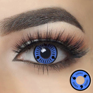Naruto Sasuke - Blue Sharingan Halloween Contact Lenses