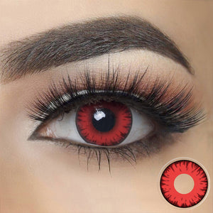 Load image into Gallery viewer, Twilight Red Vampire Halloween Contacts