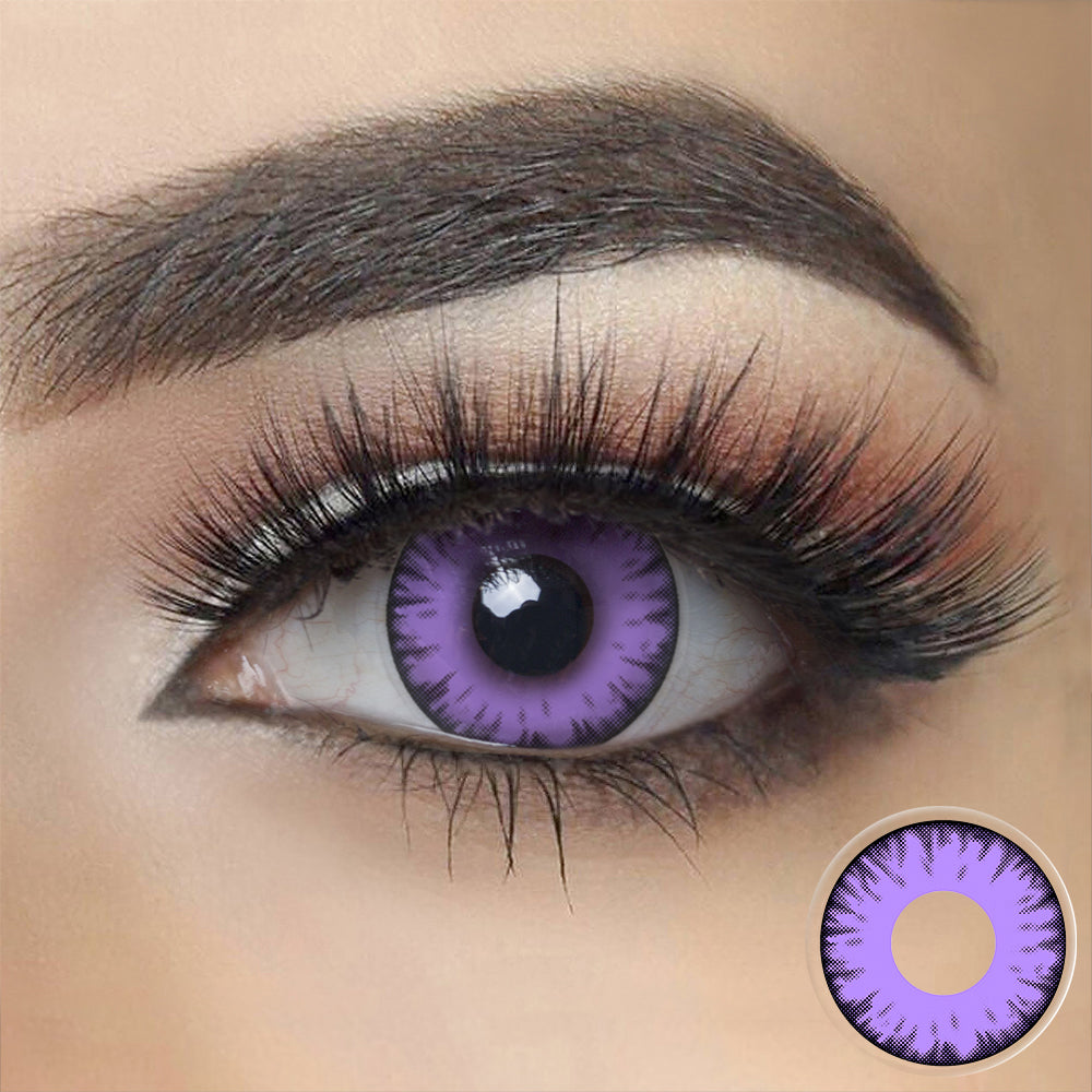 Twilight Purple Vampire Halloween Contacts