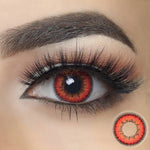 Envy Red Halloween Contacts