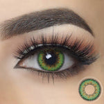 Envy Green Halloween Contacts