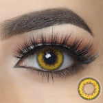 Envy Yellow Halloween Contacts