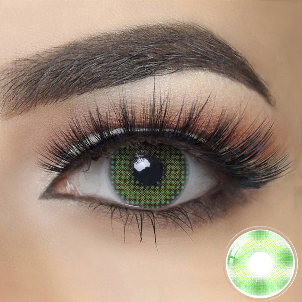 Load image into Gallery viewer, Hidrocor EMERALD GREEN Colored Contact Lenses