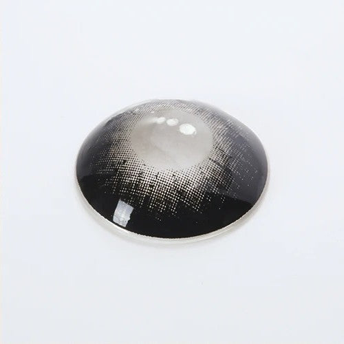 Glass Ball BLACK Colored Contact Lenses