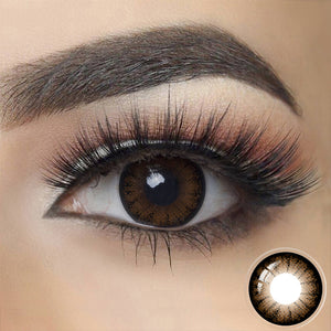 Glass Ball CHOCOLATE BROWN Colored Contact Lenses