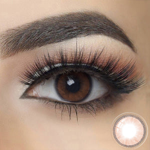 Hidrocharme OCRE BROWN Colored Contact Lenses