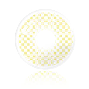 Hidrocor AMBER YELLOW Colored Contact Lenses