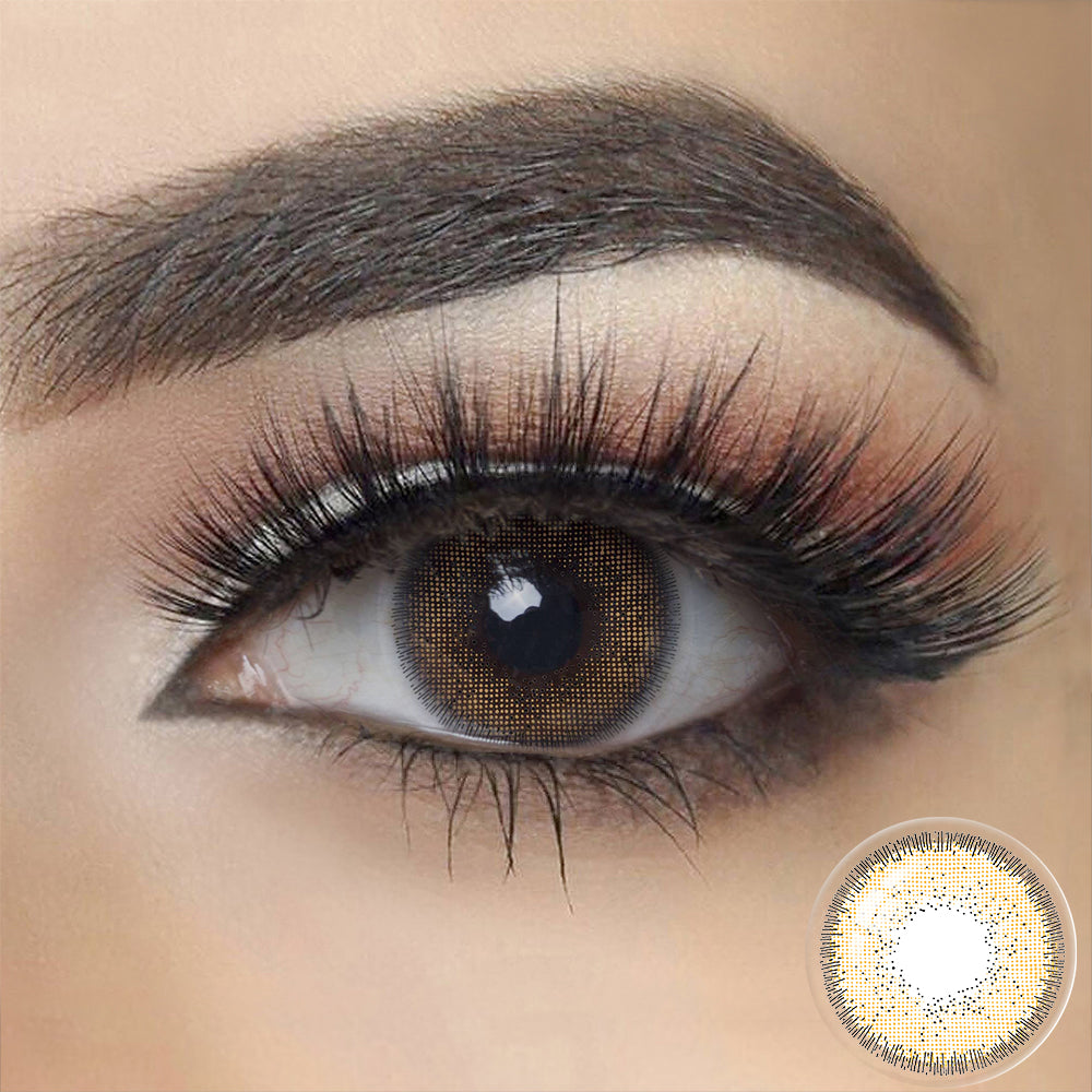Nature OCRE BROWN Colored Contact Lenses