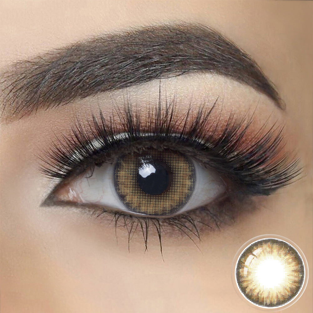 Pro HAZEL BROWN Colored Contact Lenses