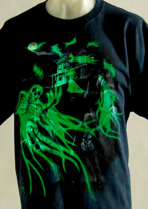 Ghost and Zombie Shirt - darkcatmansion