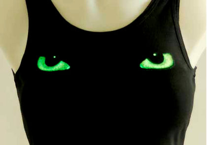 Cat Eyes Tank Top - darkcatmansion