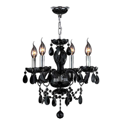 Black Chandelier - darkcatmansion
