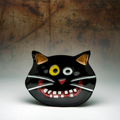Cat Plate - Dark Cat Mansion