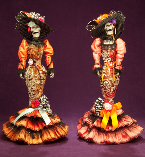 Day of the Dead Doll - Dark Cat Mansion