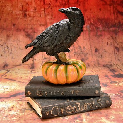 Crow Figure - darkcatmansion