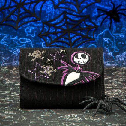 Nightmare Before Christmas Wallet - Dark Cat Mansion