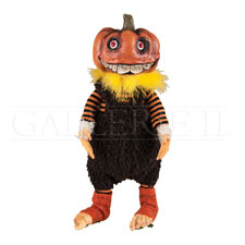 Jack Pumpkin Head Figurine - darkcatmansion