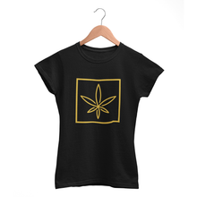 Load image into Gallery viewer, Bluntly Ladies 'Leaf' T-Shirt