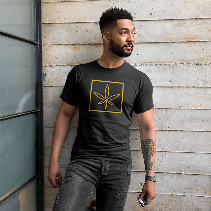 Bluntly Mens 'Leaf' T-Shirt