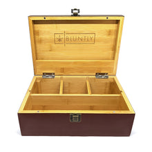 Load image into Gallery viewer, The Bluntly Brown Primo Stash Box [Discreet]