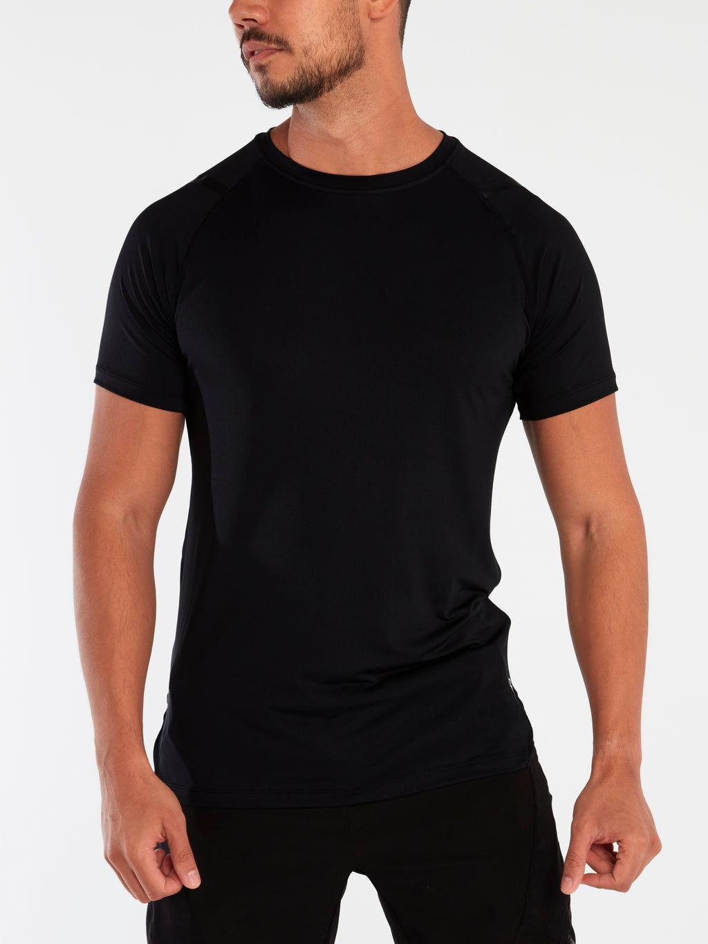 Eco Tech Tee - Black