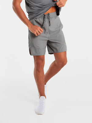 Tech Shorts - Glacier Grey