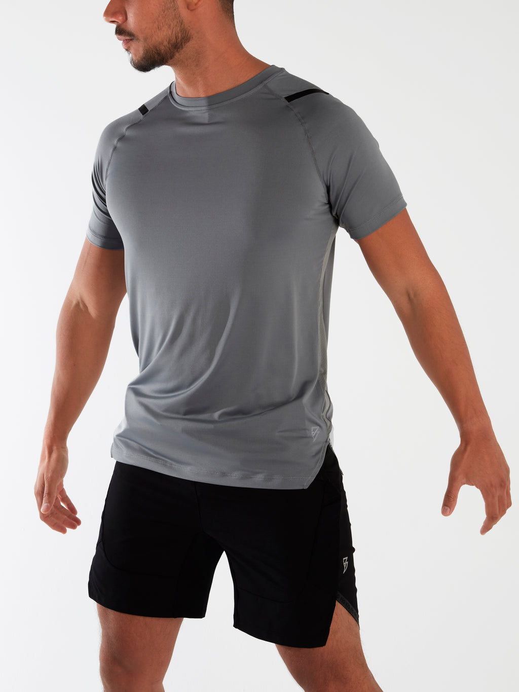 Eco Tech Tee - Glacier Grey