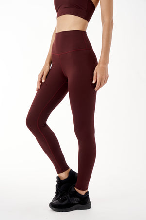 Reflex Core Leggings - Chestnut