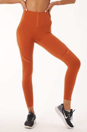 Fío-Fit Leggings - Brick