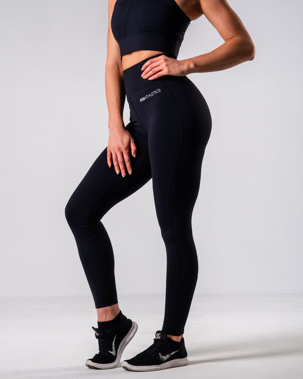 Lush Performance Leggings - Black - FIO Athletics
