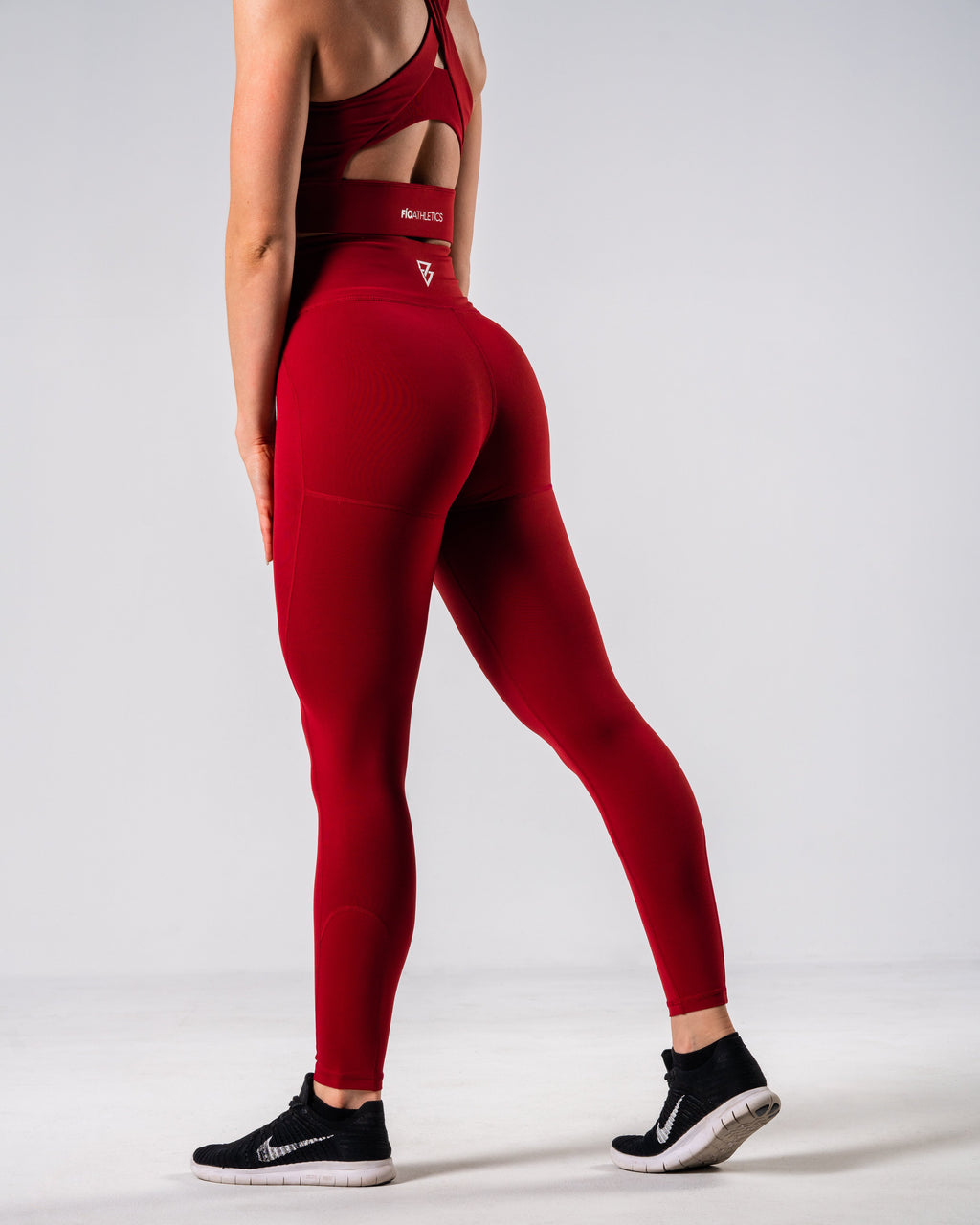 Lush Performance Leggings - Garnet - FIO Athletics