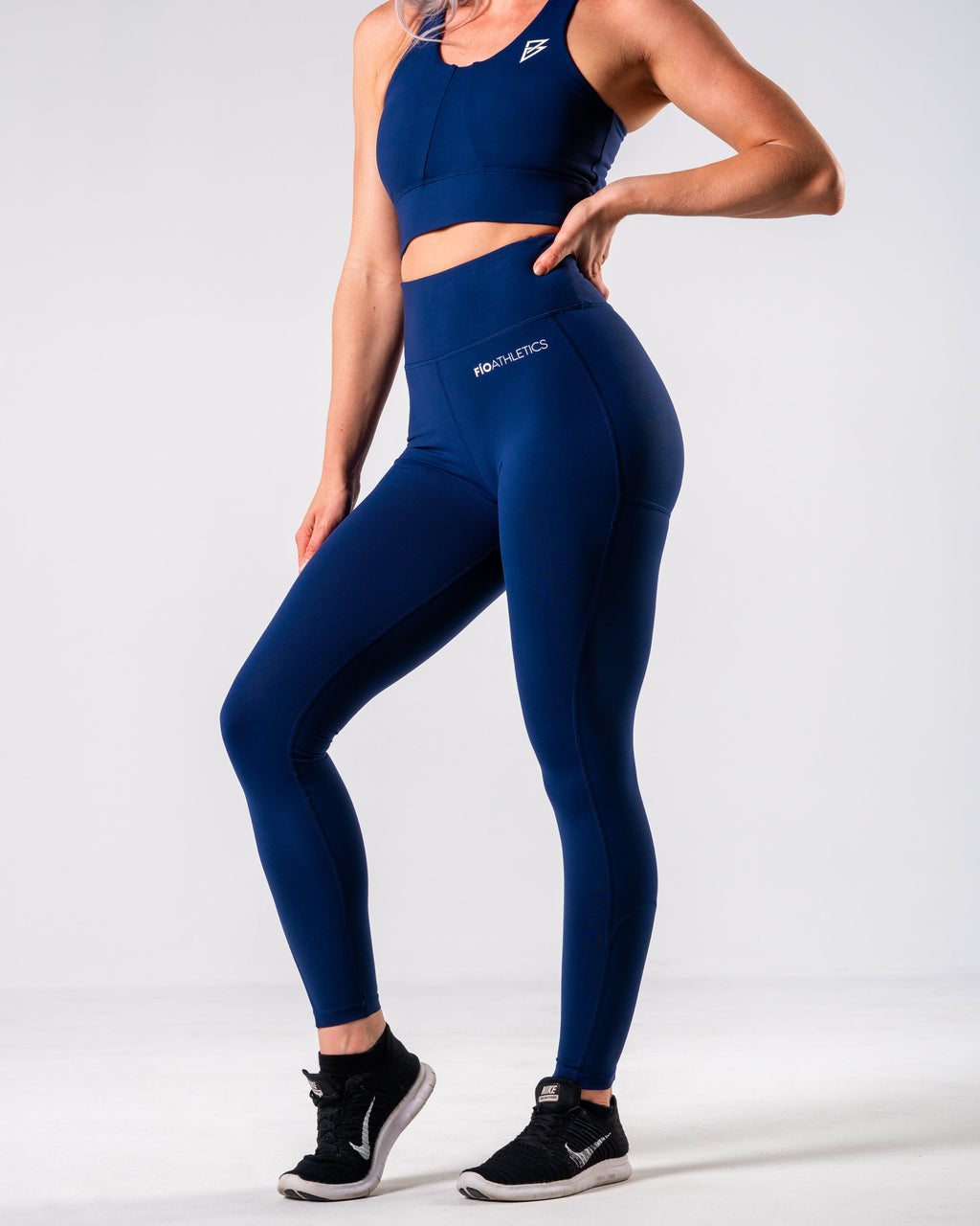 Lush Performance Leggings - Navy - FIO Athletics