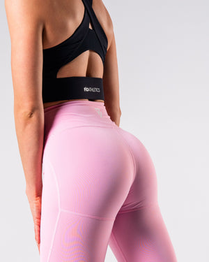 Lush Performance Leggings - Lilac - FIO Athletics
