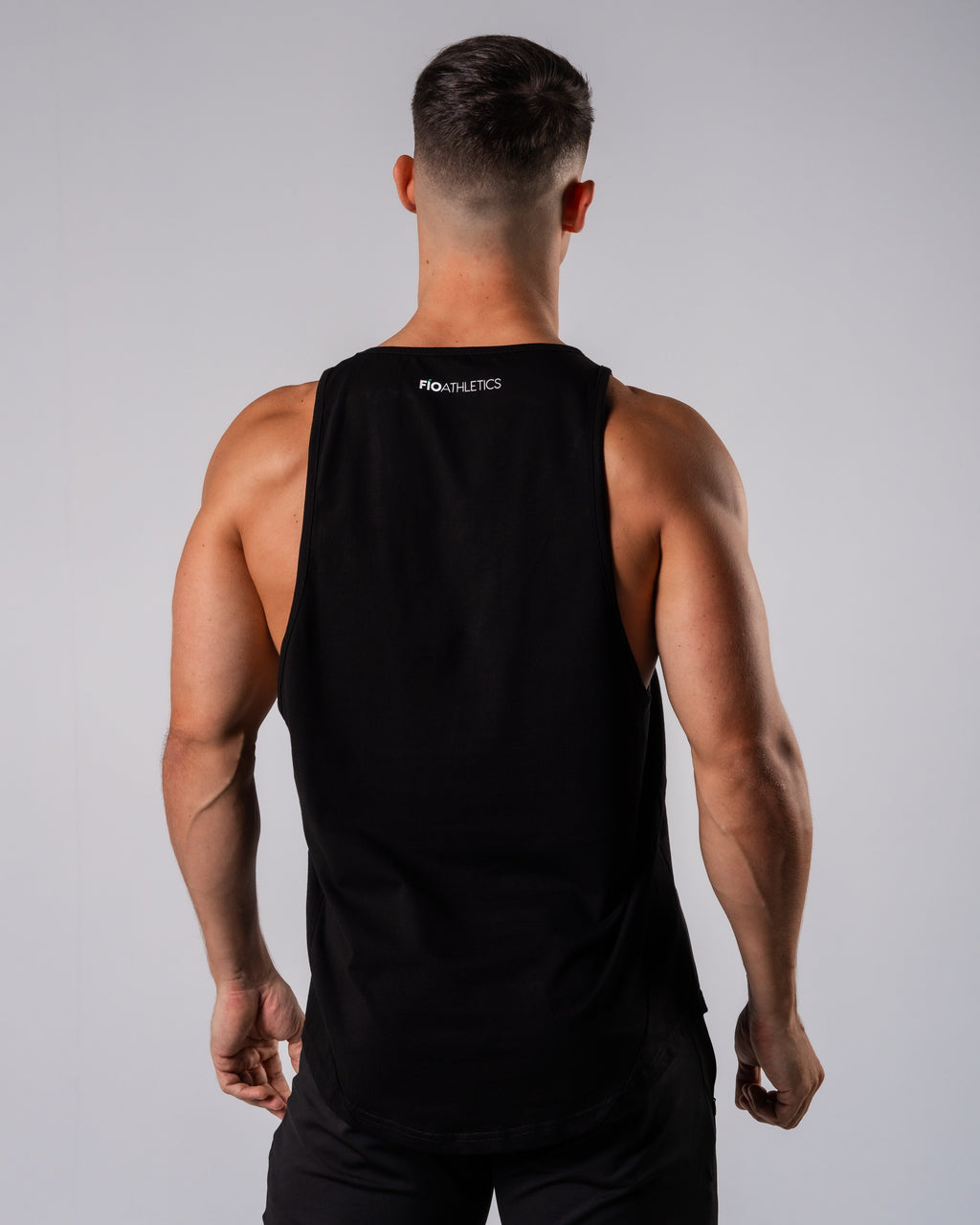 Inspire Cutoff - Black - FIO Athletics