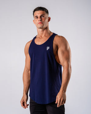 Inspire Cutoff - Navy - FIO Athletics