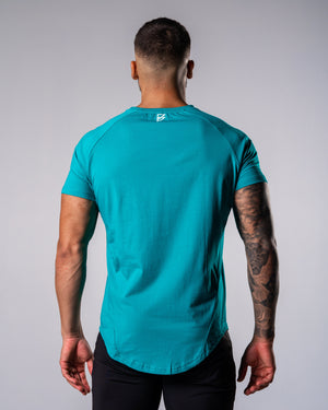 Flagship Performance Tee - Deep Teal - FIO Athletics