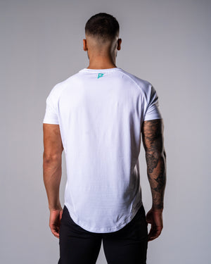 Flagship Performance Tee - White - FIO Athletics