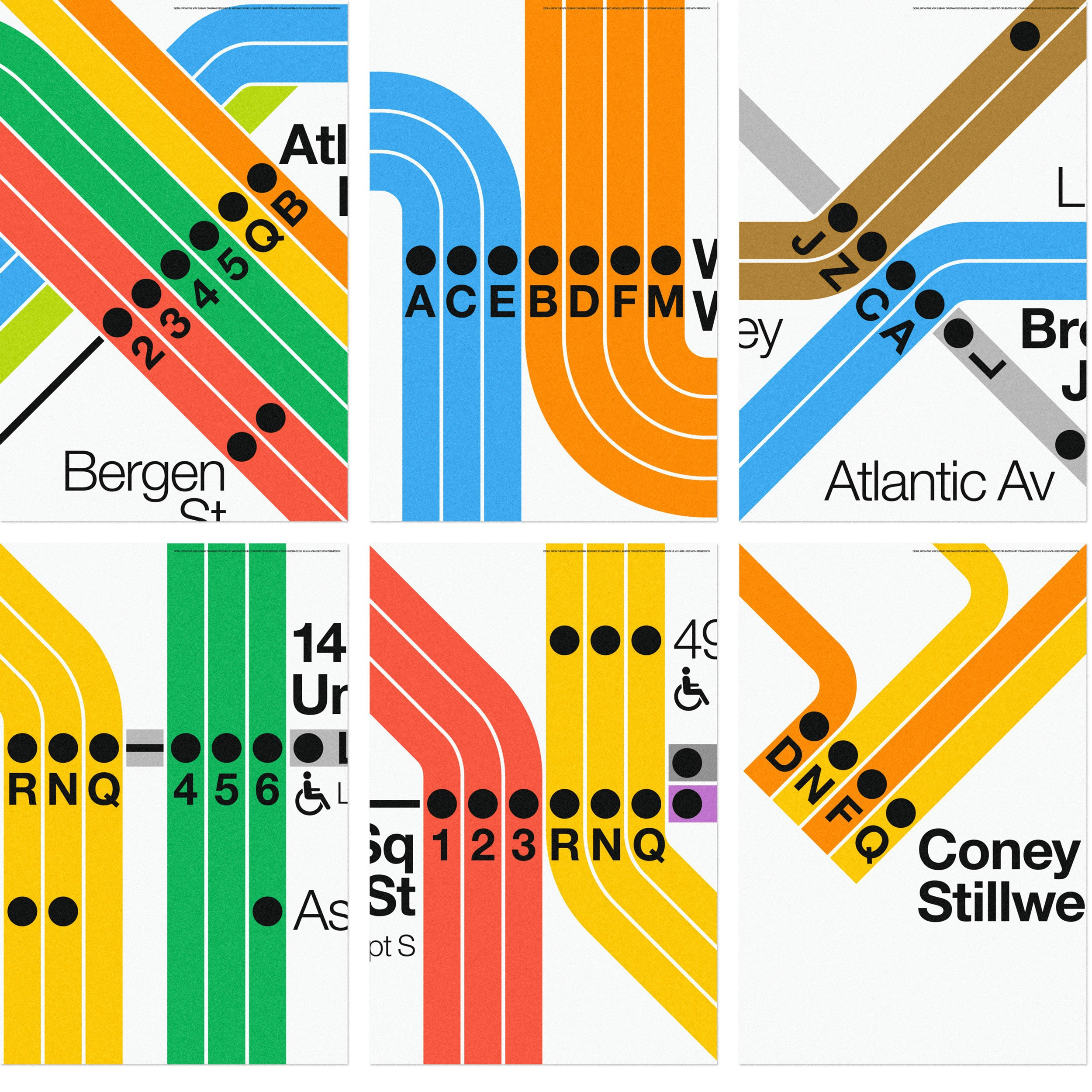NYC Subway Map