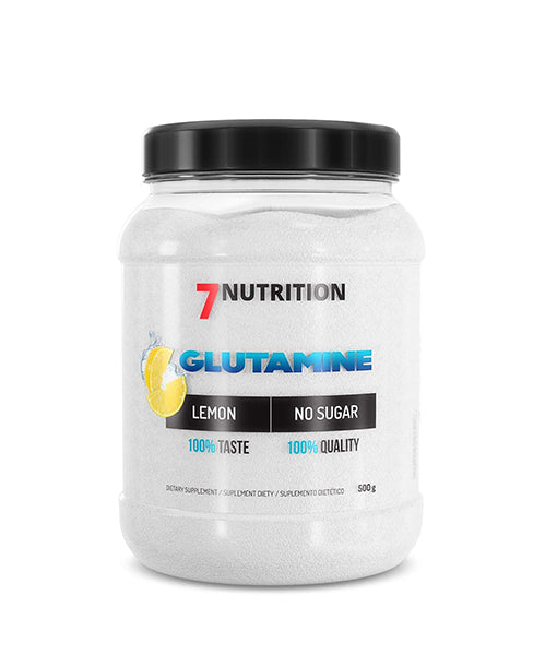 7Nutrition L-Glutamine 500gr Lemon Flavour